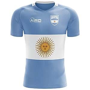 Airo Sportswear 2018-2019 Argentina Flag Concept Football Soccer T-Shirt Camiseta (Kids)