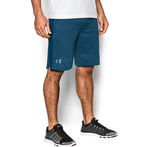 Under Armour Men's Tech Terry Shorts, Blackout Navy (997)/Silver, Small by Under Armour (Image #4)