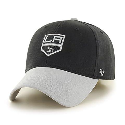 NHL Los Angeles Kings Kids Short Stack '47 MVP Adjustable Hat, Infant, Black (Los Angeles Kings Hat 47)