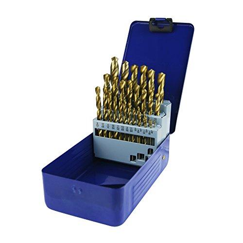 Hss Twist Drill (NORTOOLS Fractional Jobber HSS Twist Drill Bits Set 29pcs HSS Titanium Coating)