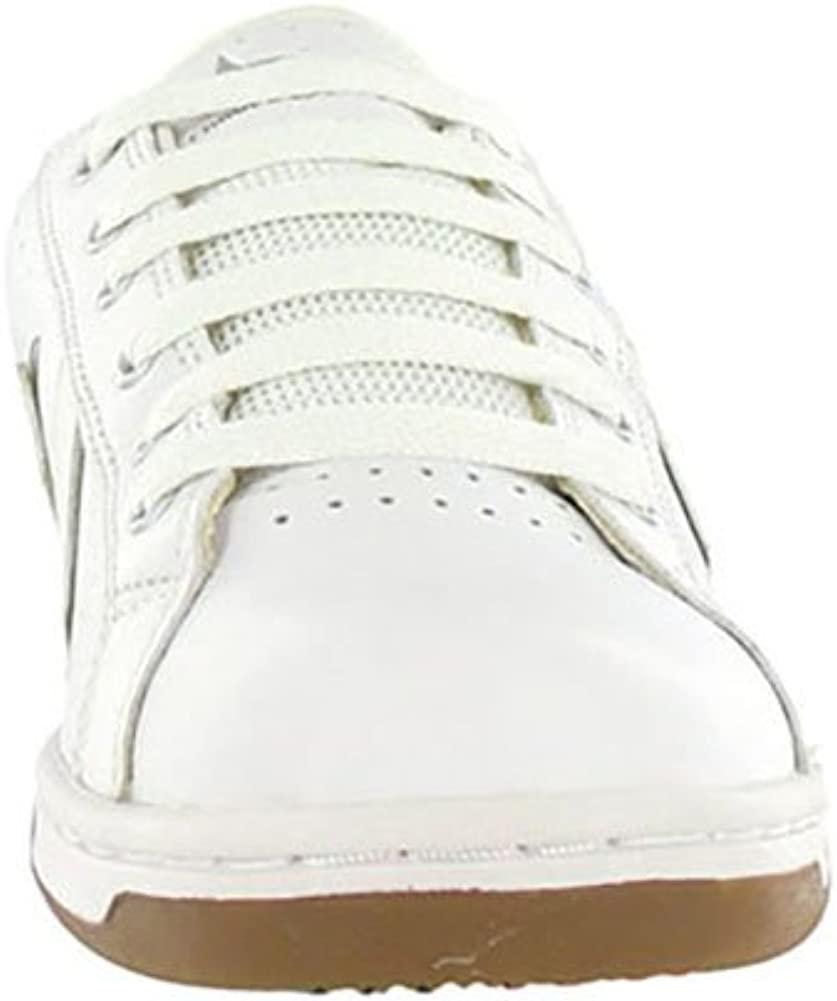 Converse Karve bue bianco / argento Skate Shoes Tg White Silver