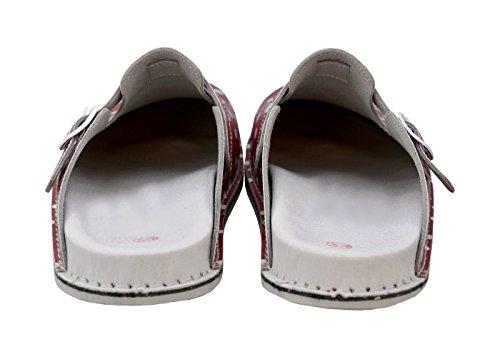 PDX/Herren Schuhe Casual//Party Kleid Fashion Satin Leder Schuhe Schwarz/Rot/Grau, - black-us6 / eu36 / uk4 / cn36 - Größe: One Size