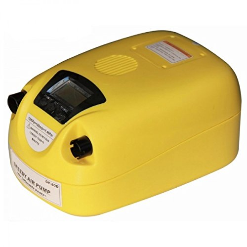 ANAMR-EP80BD * Electric pump with adjustable pressure settings and digital screen. 12v + internal rechargeable battery by Salt Gear