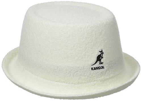 (Kangol Men's Bermuda Mowbray, White, Medium )