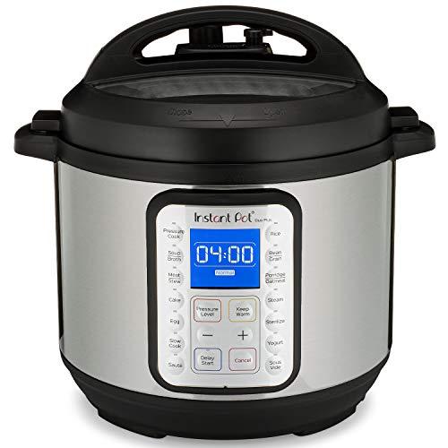 Instant Pot Olla a presión eléctrica DUO PLUS 5.7L.15 programas inteligentes: olla a presión, olla arrocera, olla de cocción lenta, vaporera