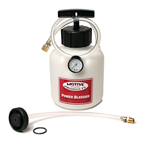 Motive Products 0107 Power Pressure Brake and Clutch Bleeder For Ford and Asian Cars and (Power Bleeder)