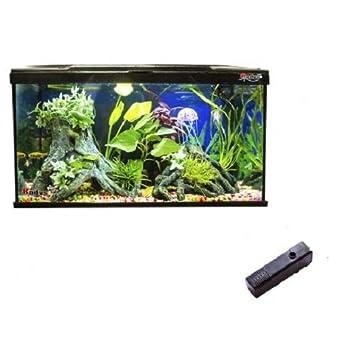 ACUARIOS ACUARIO STARTER COLD 60 LITROS TAPA LUZ LED Y FILTRO 650 L/H: Amazon.es: Productos para mascotas