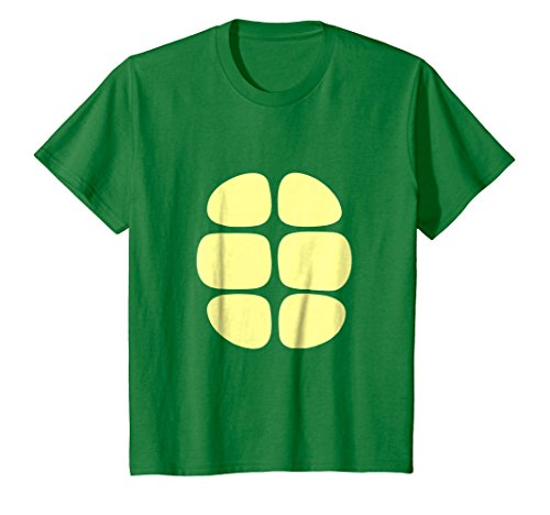 Kids Turtle Two sided T-shirt Costume 10 Kelly