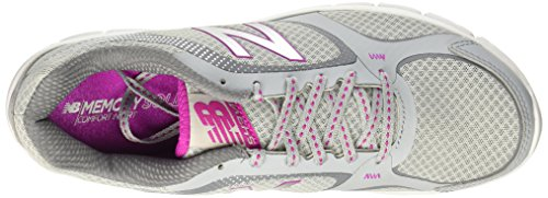 New Balance Womens We543v1 Running Sneaker Silver