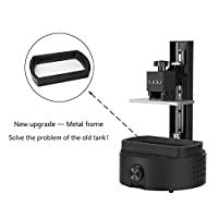 "Sparkmaker High-Resolution 3D Printer, Mini Desktop Resin SLA Printer, One-Key Printing 3D Printer-3.85"" x 2.16"" x 4.92"" Print Area from SparkMaker"