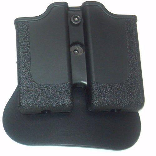 Double Mag Pouch for GSG 1911 .22 caliber paddle retention style GSG-1911-22