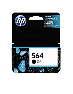 HP 564 Black Original Ink Cartridge (CB316WN) from HP