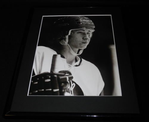 (Wayne Gretzky Framed 11x14 Photo Display Indianapolis Racers)