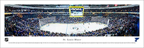 St. Louis Blues - Unframed 40 x 13.5 Poster by Blakeway Panoramas ()