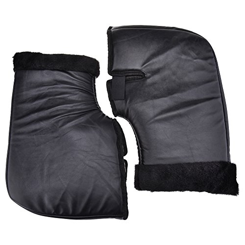 Motorcycle Winter Protective Gloves Electrombile Handlebar Thicker Windproof Waterproof Thermal Cover Warm Large Mouth Cuff
