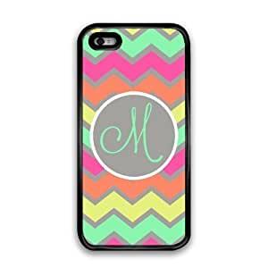 WMSHOPE? iPhone 4 4s Case Cover RAINBOW CHEVRON IN PASTELS PREPPY CELL