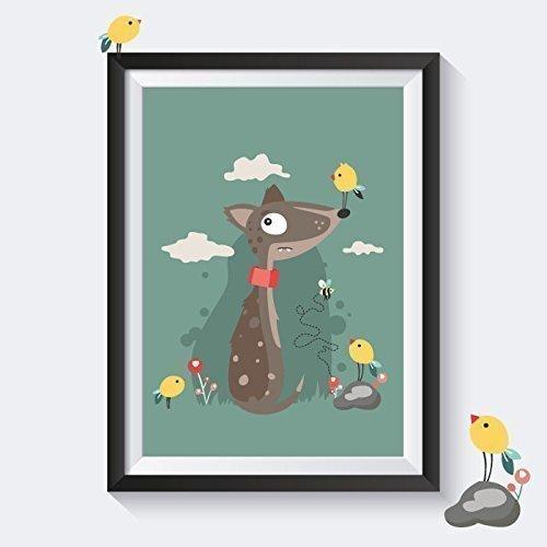 Poster Kinderzimmer Tiere Kinderzimmer Poster Tiere Kinderbilder ...