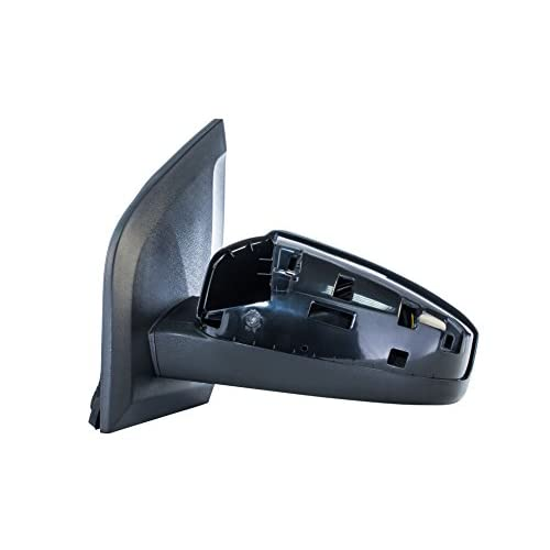 Dependable Direct Left Driver Side Black Non Folding Door Mirror For