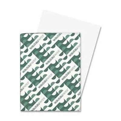 "Neenah Acid-Free Paper Exact Vellum Bristol Cover Stock, 8.5"" x 11"", White, 250 Sheets"