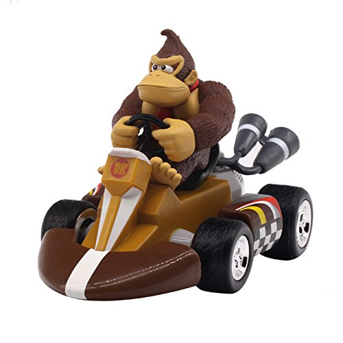 - PampasSK Action & Toy Figures - Super Mario Bros Figures 13Cm Japan Anime Luigi Dinosaurs Donkey Kong Bowser Kart Pull Back Car PVC Figma Kids Hot Toys for Boys 1 PCs