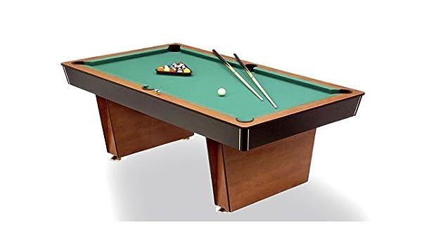 Mesa de billar Lugano Pool 6 ft. – Muy Resistente.: Amazon.es ...