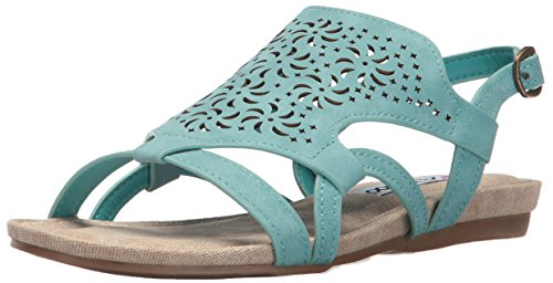 2 Lips Too Women Cassie Dress Sandal Teal