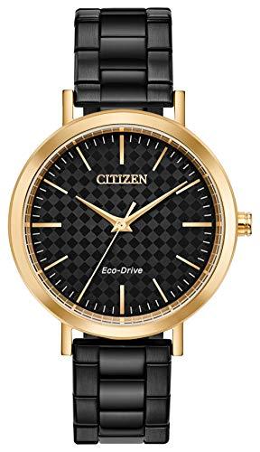 Citizen Watches Women's Drive EM0768-54E Black One Size