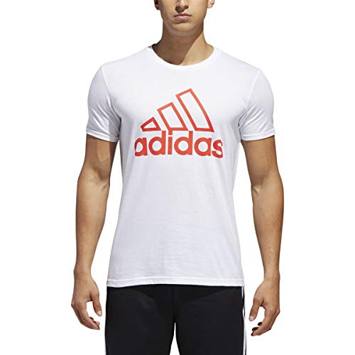 adidas Badge of Sport Stitch Tee - Mens Casual