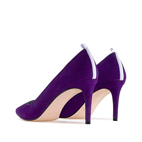 en y Tallas IN Andres 35 Made Mujer Ante 32 Spain 42 Machado Grandes Gala Peque Violeta 45 as Salon wcYzqStZY