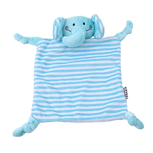 Ch Soft Plush Comfort Saliva Towel Placate For Baby Comfort Sleep Towel Animal Dolls  Elephant