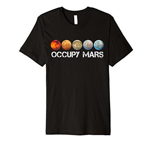Occupy Mars T-shirt Terraform Shirt