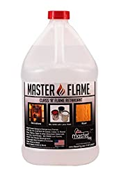 Master Flame - Fire Retardant - Spray on Application or Mix with Paint - 1 Gallon