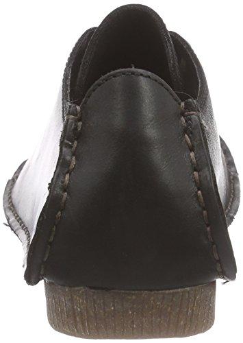 Clarks Mae Janey Leather Femme black Mocassins Noir vxap7AvqwH