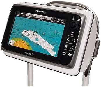 Seaview pyi-sp4s/Spod grande, Mfg # sp4s, velero Pod para una gran pantalla multifunción, sin cortar. Resistentes a los rayos UV de grado marino AMS plástico con Tamper Resistant tornillos y inoxidable para