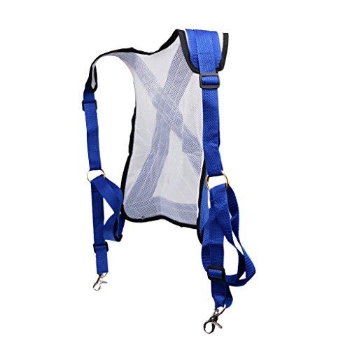 (Jili Online Adjustable Stand Up Fishing Shoulder Harness Vest Protector Max. 150cm Bust)