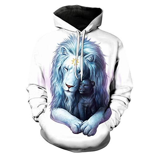 Homme Casual Top Manches Animal shirt Capuche Avec Robo Hoodie C 3d T Vest Multicolore 32 À Longues Unisexe Sweats Pull Zatqqyw16