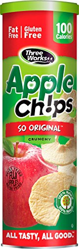 ThreeWorks Apple Chips, So Original, 1.76 Ounce (Pack of 12)