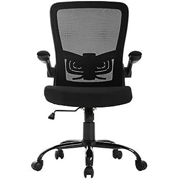 Amazon.com: Furmax Office Chair Mid Back Swivel Lumbar ...