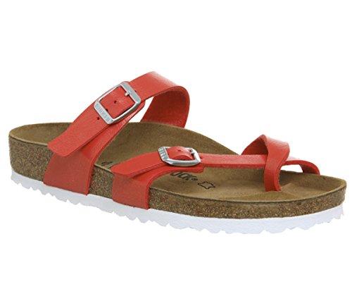 Birkenstock Womens Mayari Graceful Hibiscus Regular Fit Sandals Size 5
