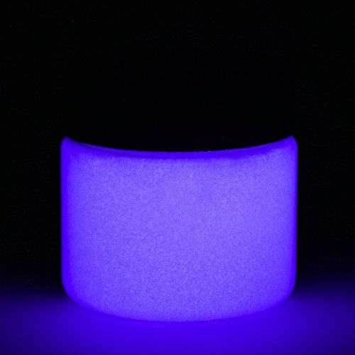 Fluorescent Glow in The Dark Paint - 1 Ounce (Fluorescent Purple) - 5+ Colors Available ()