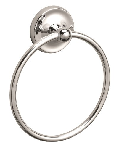 Premier 120477 Bayview Towel Ring, Chrome by Premier