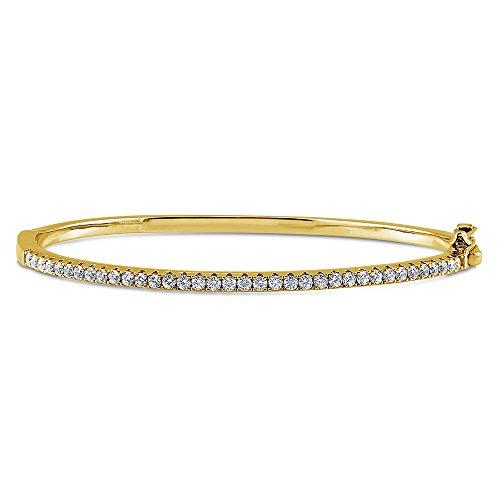 Yellow Gold Fashion Bangles - 3