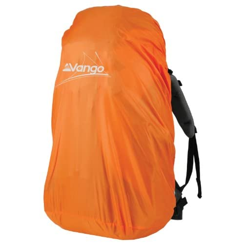 41Smg5VFDcL. SS500  - Vango ACXRAINCVZ00CL3 Rain Cover for 40-55 Litre Backpack One Size Orange
