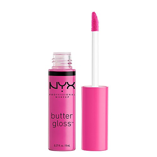 NYX PROFESSIONAL MAKEUP Butter Gloss, Sugar Cookie, 0.27 Flu