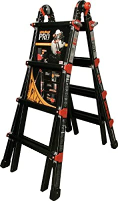 Little Giant PRO Series 300-Pound Duty Rating Multi-Use Ladder