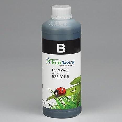 Tinta Eco solvente para plóters Roland y Mutoh, Negro, LITRO, EcoNova ID by INKT: Amazon.es: Electrónica