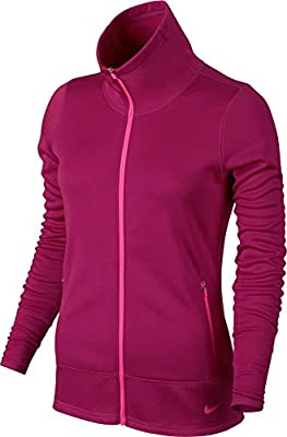 Nike Thermal Full Zip Golf Jacket 2015 Ladies Sport Fuchsia/Pink Pow X-Small