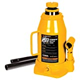 Performance Tool W1633 20 Ton (40,000 lbs.) Heavy Duty Hydraulic Bottle Jack