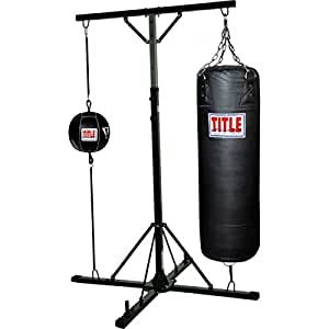 Amazon Com Title Boxing Double Trouble Heavybag Stand