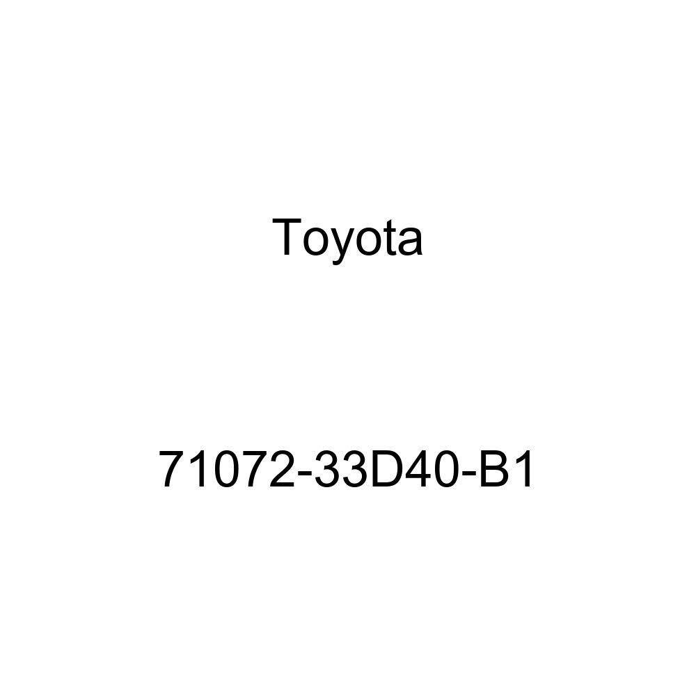 TOYOTA Genuine 71072-33D40-B1 Seat Cushion Cover